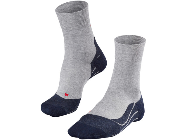Falke RU4 Chaussettes de running Homme, light grey